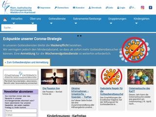 Vorschaubild der Webseite Kindergarten St. Josef