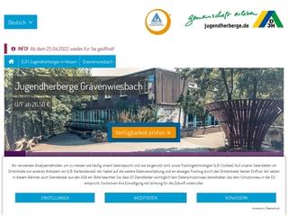 Vorschaubild der Webseite Jugendherberge Grävenwiesbach