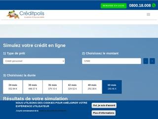 Crédit personnel et crédit en ligne