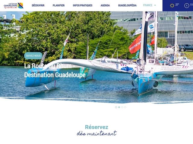 Les îles de Guadeloupe, archipel de découvertes