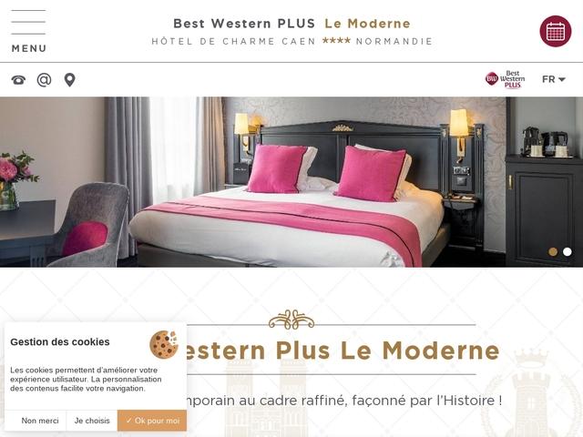 Best Western Hôtel Moderne ***