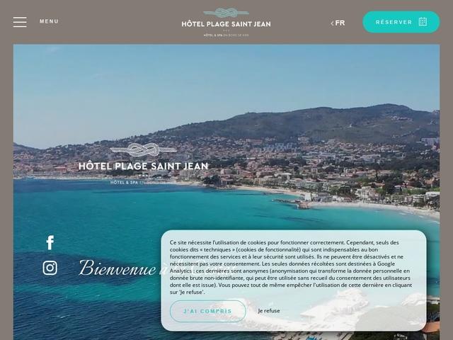 Hôtel Plage Saint Jean ***
