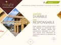 Détails : Nidylle construction maisons ossature bois écolo