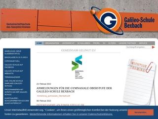 Vorschaubild der Webseite von Gemeinschaftsschule Bexbach