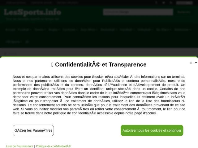 Les-Sports.info  aide aux pronostics sportifs
