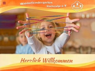 Vorschaubild der Webseite Waldorf-Kindergarten Rudolf Steiner