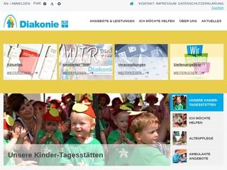 Vorschaubild der Webseite Integrative Kindertagesstätte  Die Farbklekse