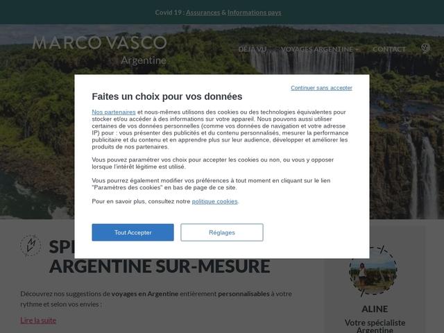 Voyage en Argentine sur mesure ▷- Argentinaveo