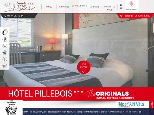 Hôtel Le Pillebois ***