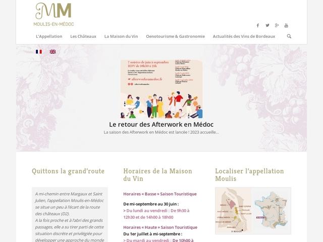 Maison des Vins AOC Moulis