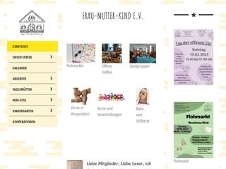 Vorschaubild der Webseite von Frau-Mutter-Kind e.V. Mühlheim