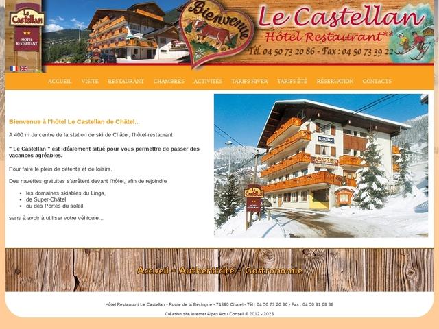 Hôtel Restaurant Le Castellan **