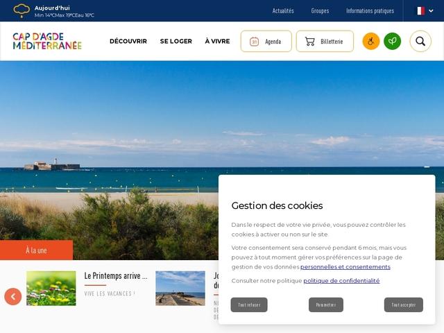 Office de Tourisme du Cap d'Agde