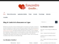 Blog & Guide de la Rencontre en Ligne - Rencontre.guide