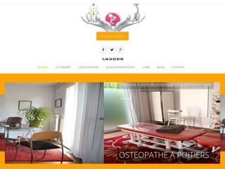 Ostéopathe à Poitiers, Sophie lecocq