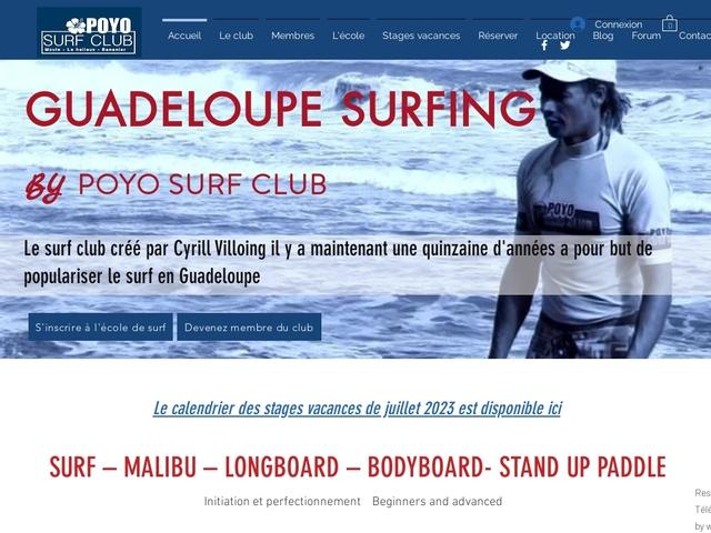 Poyo Surf Club - école de Surf en Guadeloupe