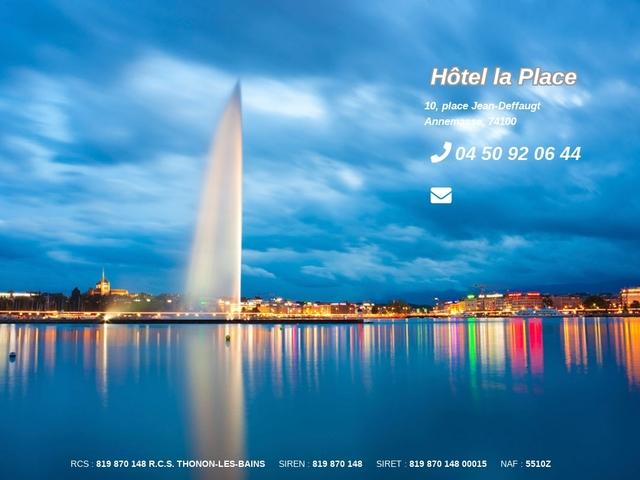 Hôtel la Place **