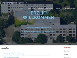 Vorschaubild der Webseite Gemeinschaftsschule am Großen Herrenberg