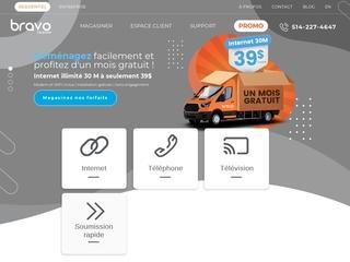 Internet téléphonie Bravo Telecom
