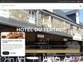 Page d'accueil hotel du tertre, un hotel ** dans la baie du mont saint michel