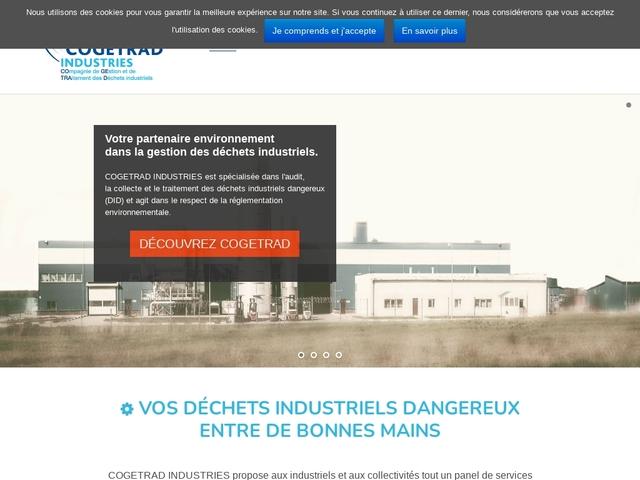 Ccogetrad.com - traitement de déchet industriel Dangereux