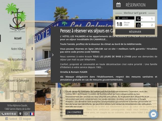 Hôtel les Palmiers **