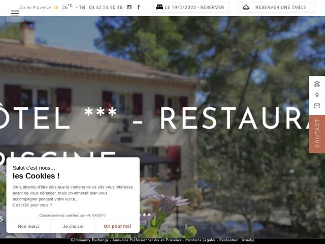 Hôtel Mas des Ecureuils ***
