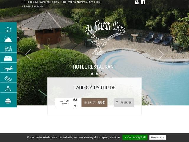 Hôtel-restaurant Au Faisan Doré **