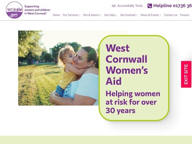 West Cornwall Women's Aid (WCWA)