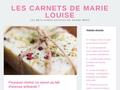 + Les carnets de Marie-Louise +