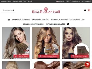 Extensions de cheveux Remy Hair Caucassiennes