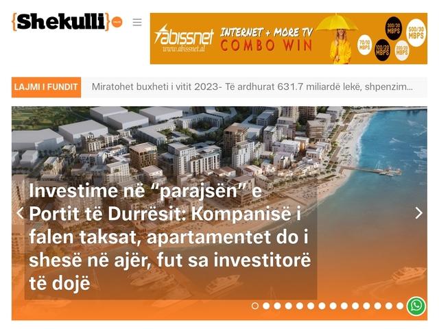 Shekulli Online