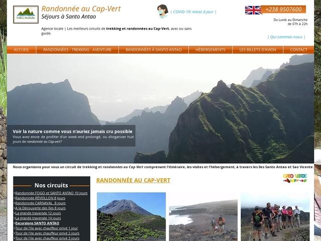Randonnée au Cap-Vert| Santo Antao Île des montagnes