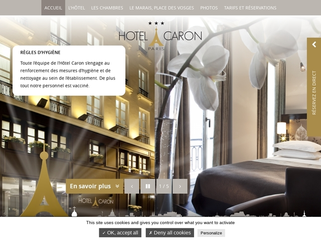 Hôtel Caron ***