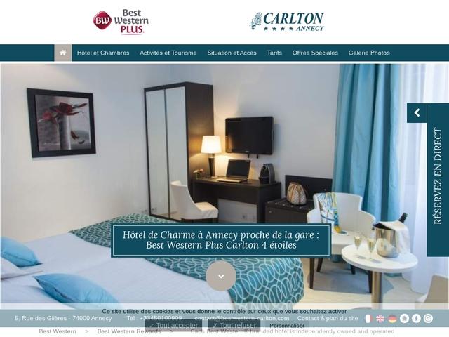 Best Western Hôtel Carlton ***