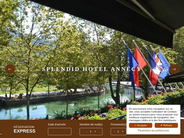 Splendid Hôtel ***