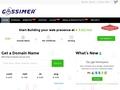 Domain Names, Web Hosting and SSL Certificates - Gossimer