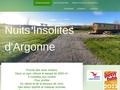 Nuits Insolites d'Argonne roulottes Dommartin-Varimont Marne