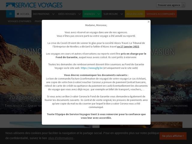 Service Voyage